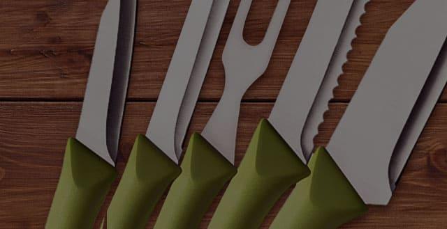 Como cuidar das facas?